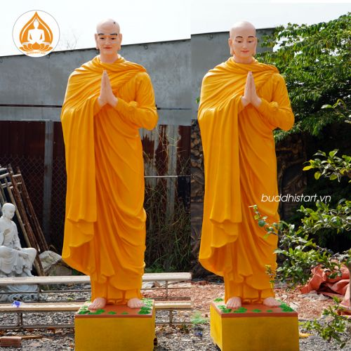 Tượng A  Nan Đà - Ca Diếp cao 2 mét Buddhist Art