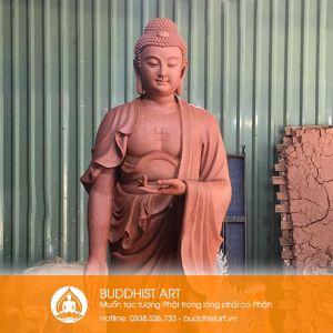 Tượng Phật A Di Đà cao 3 mét