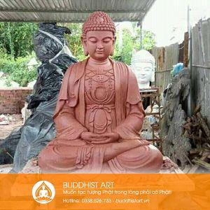 Tượng Phật A Di Đà Ngồi thiền