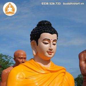 Tượng Bổn Sư Thích Ca Ngồi Thiền đẹp tại Buddhist Art 180cm