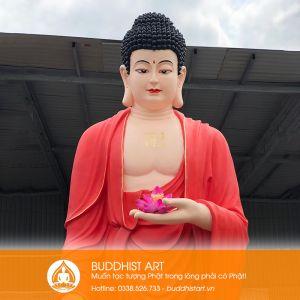 Tượng Phật A Di Đà cao 320 cm