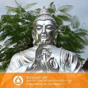Tượng Phật Bổn Sư Thích Ca chuyển pháp luân cao 320 cm