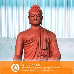 Tượng Phật Bổn Sư Thích Ca Ấn Địa Xúc 150 cm