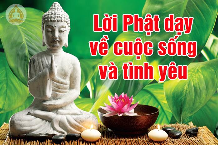 Lời Phật dạy hay về đời sống và tình yêu