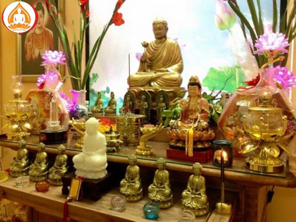 Những điều kiêng kỵ khi thờ Phật tại nhà