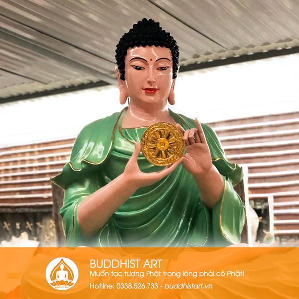 Tượng Phật Dược Sư bằng composite đẹp